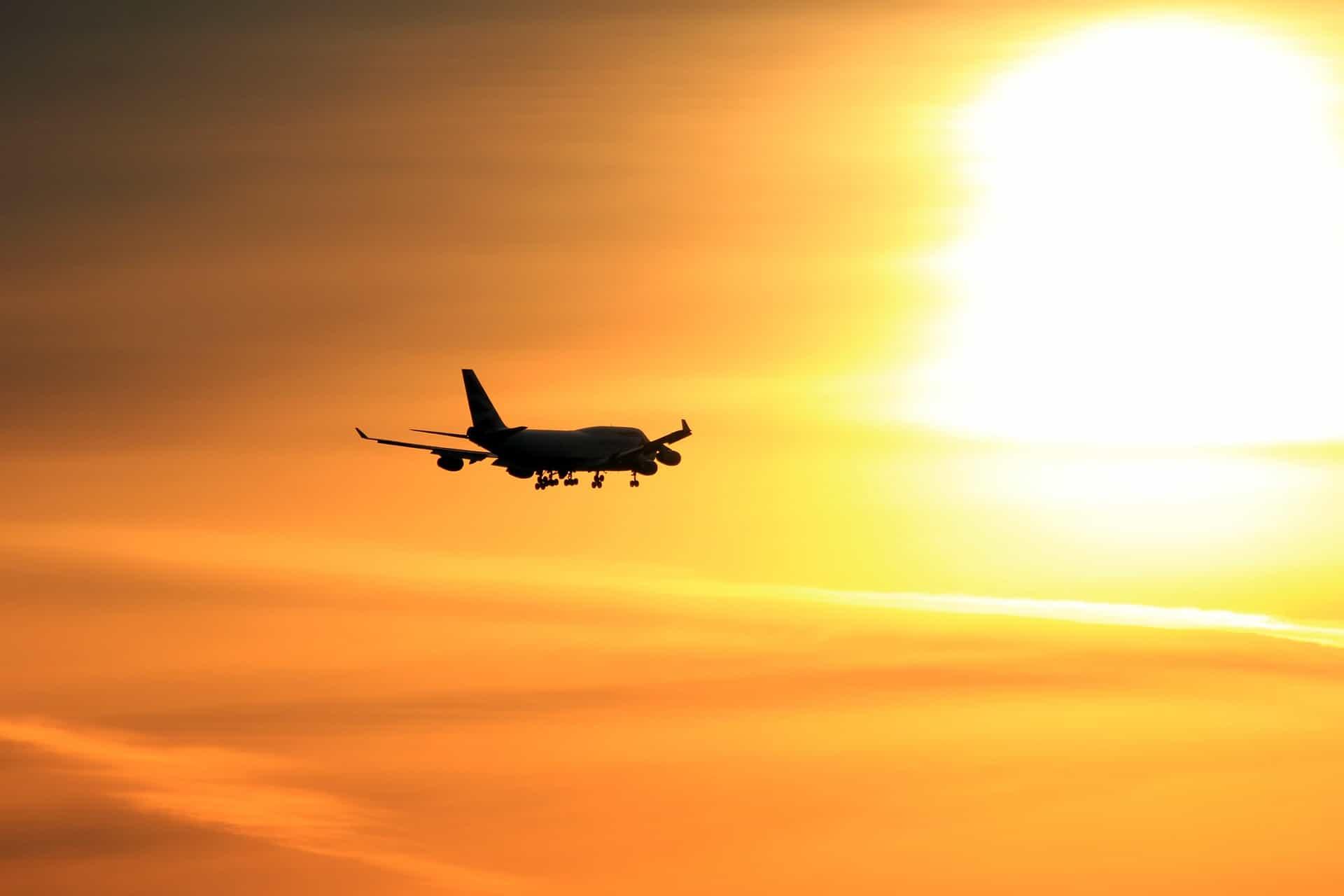 voyage avion drone