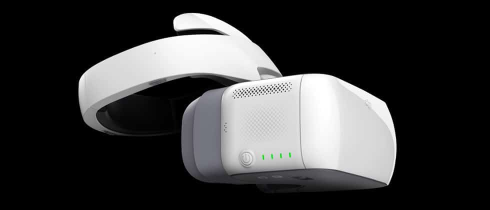 DJI Goggles casque immersion drone