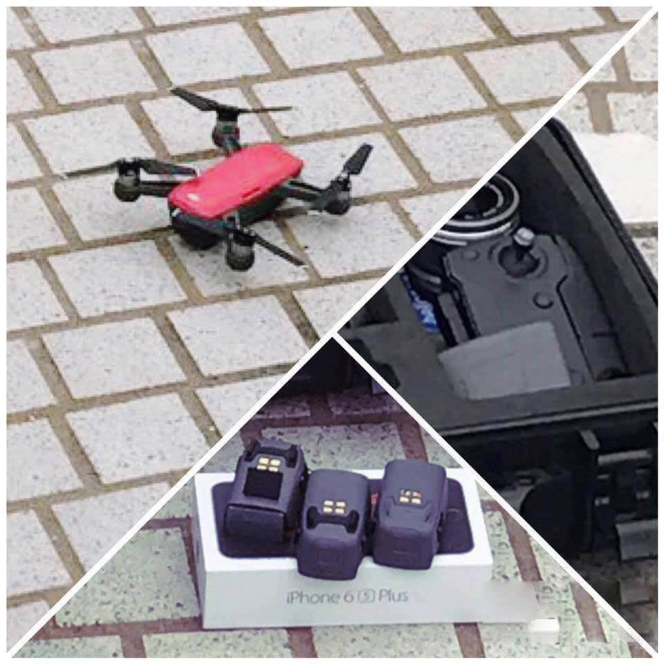 dji spark bebop 2 parrot drone