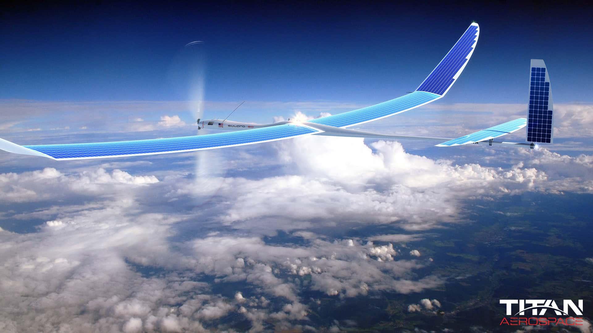 titan aerospace drone solaire google internet