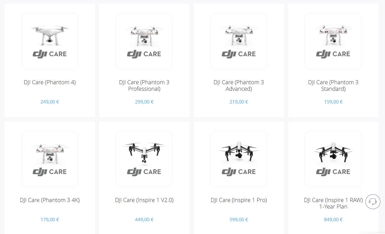 assurance dji care bris de machine