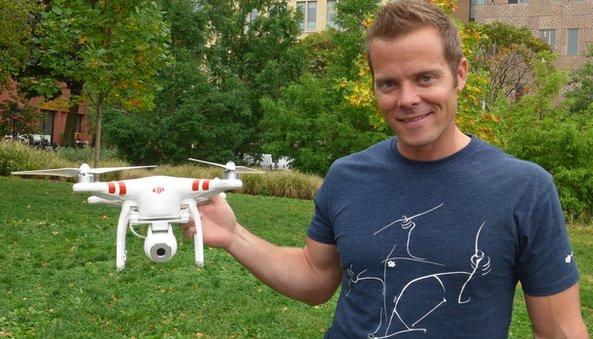application pour drone colin guinn hangar 360