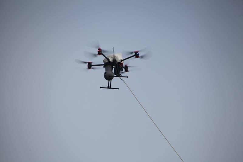 drone captif reglementation