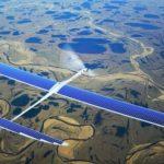 drone solaire internet facebook google