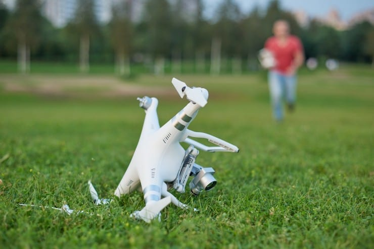assurances drone crash responsabilité civile