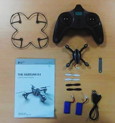 drone entrainement formation droner hubsan
