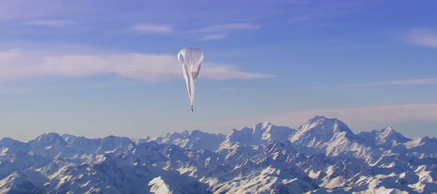 projet loon google drone solaire