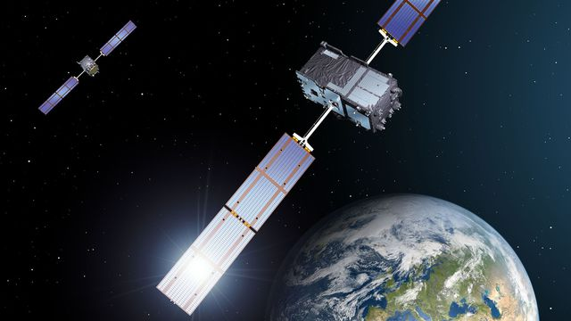 galileo gps drone systeme positionnement